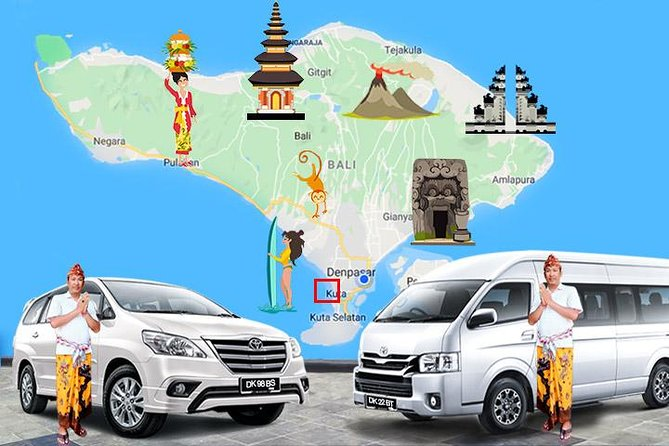 Kuta Beach Local Transport services, with Good English Speaking Driver