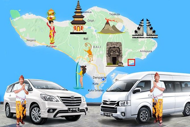 Padang Bai Local Transport services, with Good English Speaking Driver