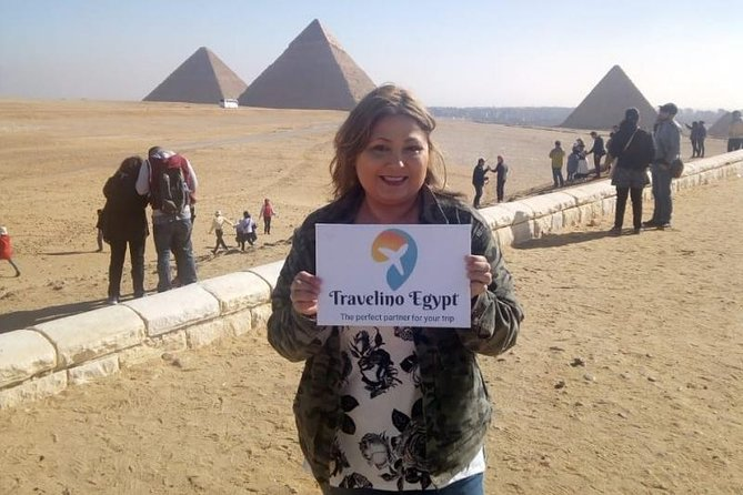 Private Half-day Trip To Giza Pyramids With Camel Riding photo 3