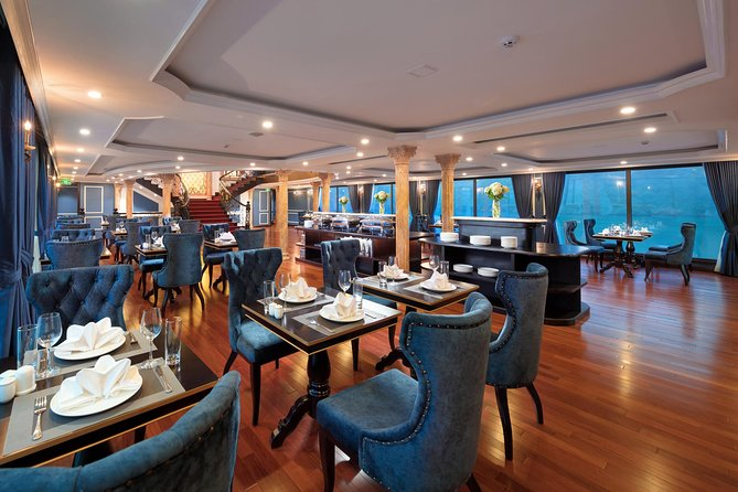 FULL package - 3D2N on 5* Luxury Cruise explore Lan Ha Bay and Halong Bay