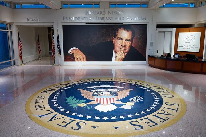 President Nixon's Library: Private, Roundtrip Transfer From/To Anaheim Resort.