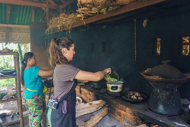 Clases de cocina exclusivas y privadas de cocina verde con cascada