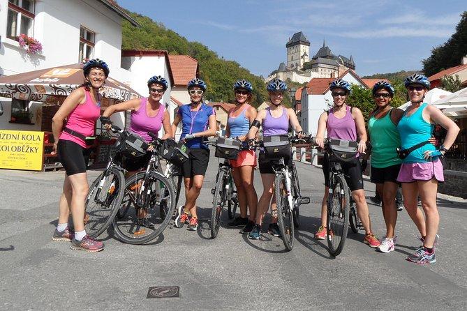 Karlstejn bike tour from Prague