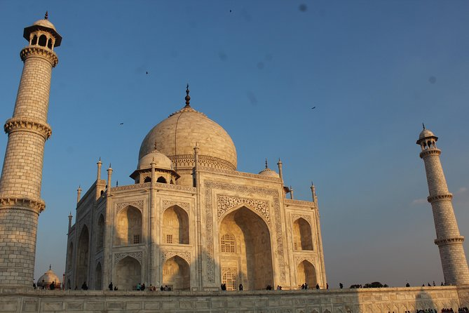 Private Same Day Trip to Taj Mahal and Agra Fort from Delhi