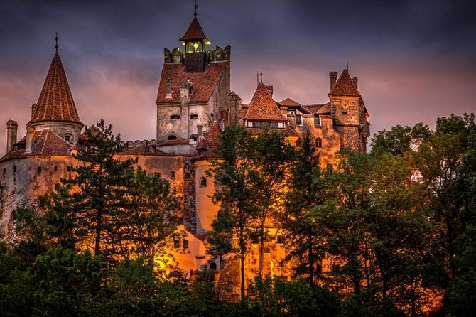 Dracula Castle, Peles Castle and Rasnov Fortress from Brasov