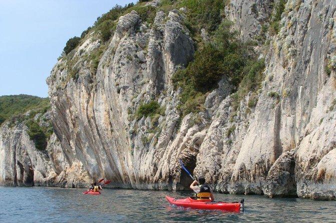 Southern cliffs sea kayak adventure