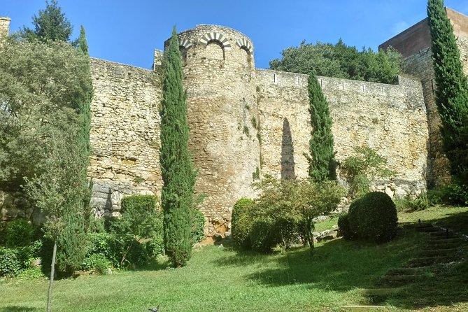 Old Walls of Girona city
