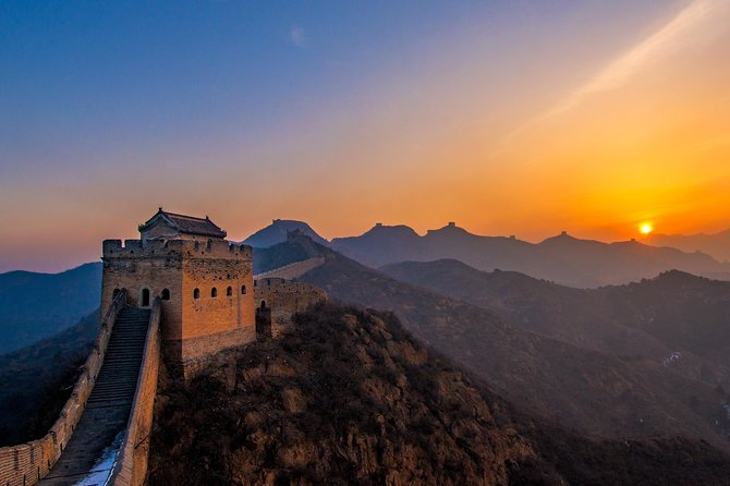 Bus tour to Gubei Water Town and Simatai Great Wall