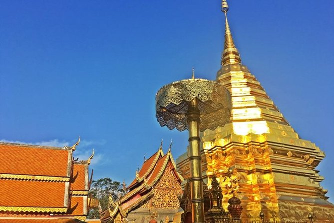 CHIANG MAI: Join Tour Half Day Tour to Doi Suthep Temple+Meo Village