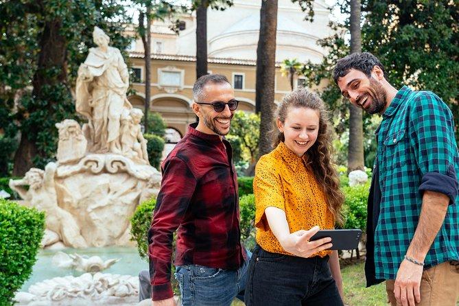 Hidden Gardens & Roman Courtyards Private Tour