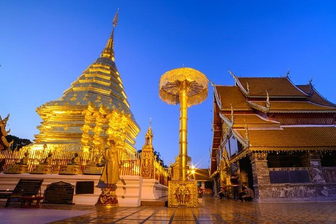 CHIANG MAI: Join Tour Half day Doi suthep + Puping Palace