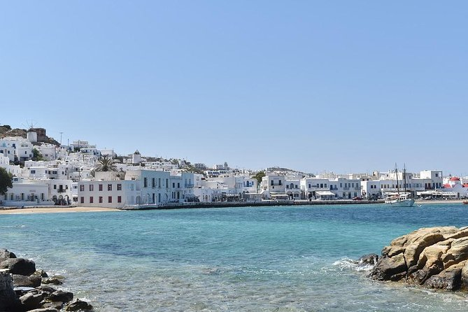 Departure Private Transfer Mykonos to Mykonos Airport JMK by Sedan Car or 4WD photo 3