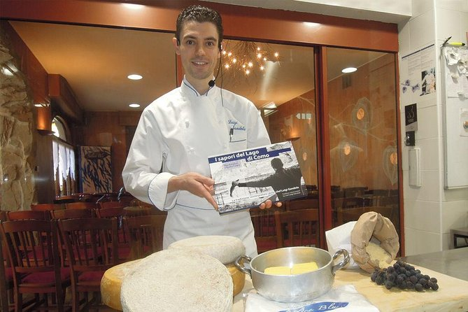 Privé kooklessen met chef-kok Luigi Gandola in Bellagio