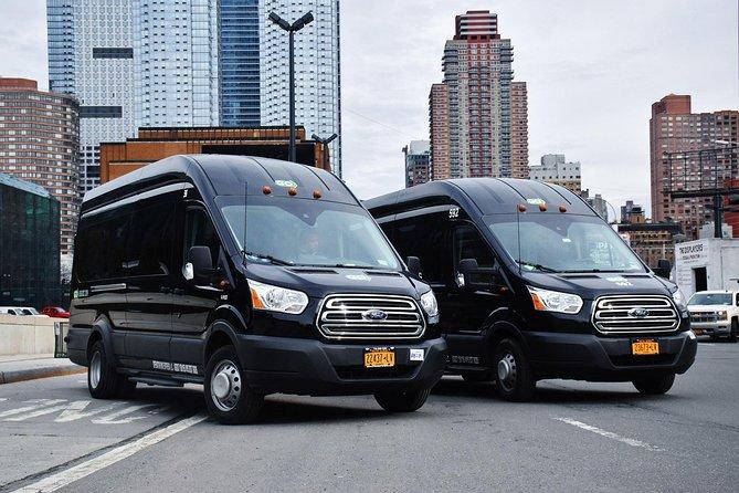 Transporte privado con todo incluido entre aeropuertos de Nueva York