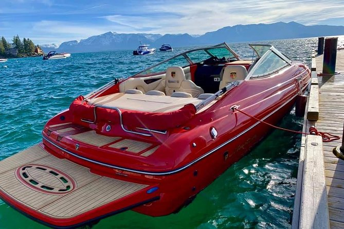 Private Boat Charter - 4 Hours with Captain on Lake Tahoe