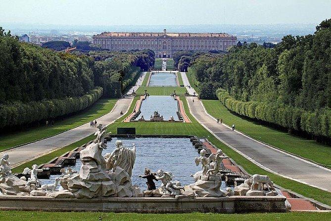 Tour of the Royal Palace of Caserta, Carolino Aqueduct and San Leucio