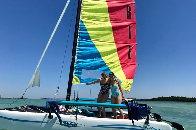 Sailing Adventure in Miami's Biscayne Bay with fun sailors photo 11