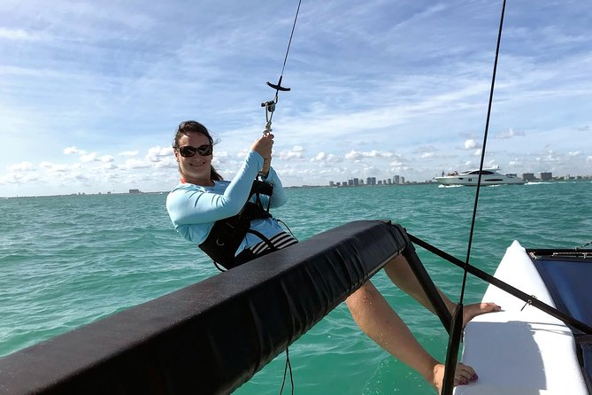 Sailing Adventure in Miami's Biscayne Bay with fun sailors photo 9