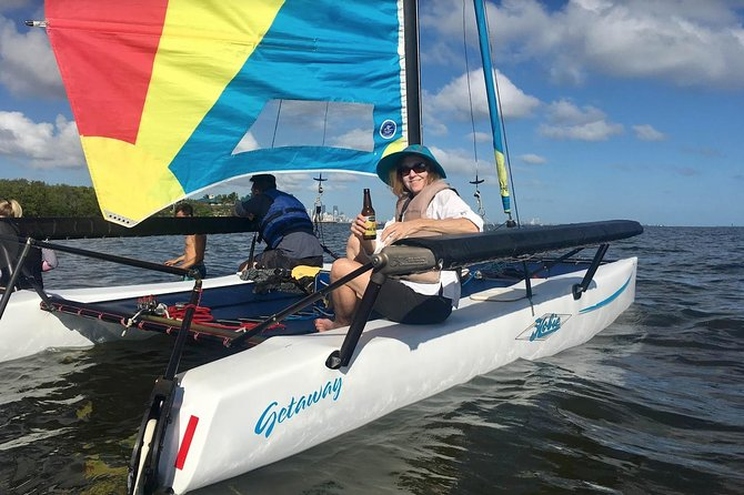 Sailing Adventure in Miami's Biscayne Bay with fun sailors photo 6