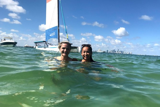 Sailing Adventure in Miami's Biscayne Bay with fun sailors photo 10