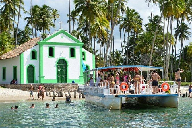 Passeio à Praia dos Carneiros partindo de Recife/Olinda/Jaboatão dos Guararapes