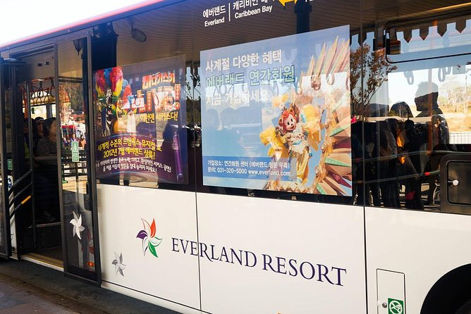 Everland Shuttle Bus Ticket Roundtrip From Seoul photo 7