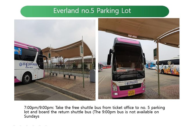 Everland Shuttle Bus Ticket Roundtrip From Seoul photo 8
