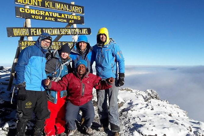 Kilimanjaro Budget Trek On Marangu Route 5-6 Days