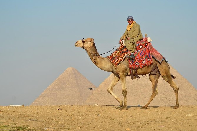 Full day tours to pyramids, Sphinx, Solar boat, and Camel ride