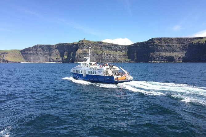From Ennis: Aran Islands & Cliffs of Moher, including Cliffs of Moher cruise