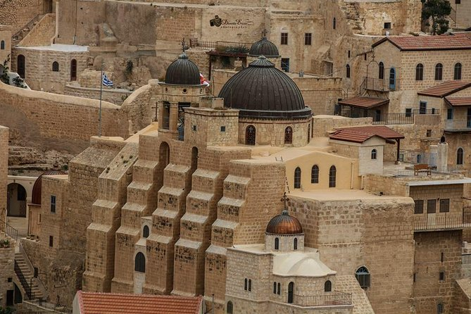 Bethlehem, Mar Saba, Mount of Temptation and Saint George Monastery Private Tour