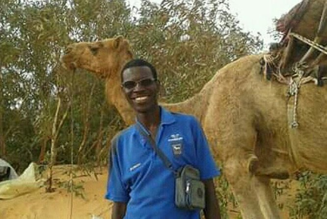 Ready for camel riding