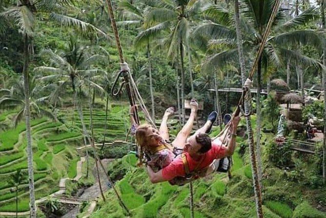 Bali ATV Zip Line Swing Through Jungle - Free WiFi on Board