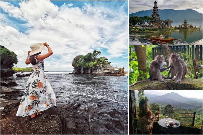 Bali in 2-Days: Ubud, Kintamani, Bedugul and Tanah Lot Tour