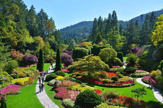 Vancouver to victoria and butchart gardens tour by bus 2019 - Butchart gardens tour from victoria ...