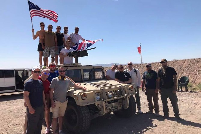 Platinum 8 Gun Desert Shooting in Boulder City