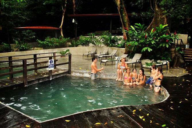 Private mega combo adventure tour Canopy Horseback Ride Water Slide and Natural Hot Springs