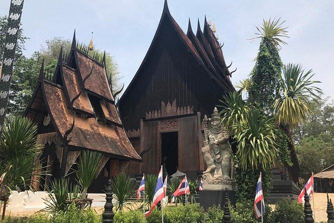 CHIANG MAI: Join Tour White temple-Bann dam museum-Golden Triangle-Long Neck