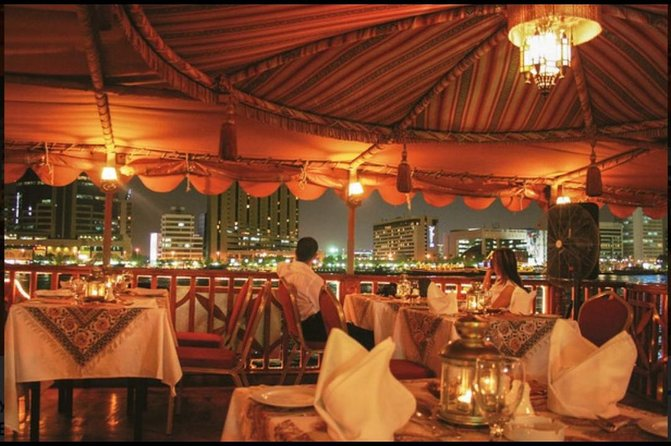 Dubai Deira Cruise with International Buffet Dinner with Live Shows