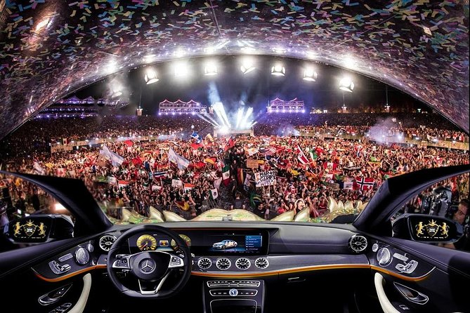 Private Transfer from Brussels to Tomorrowland Dreamville by luxury car
