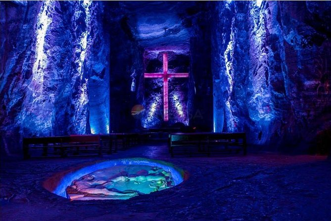 Salt Cathedral in Zipaquirá and Andres Carne De Res in Chía