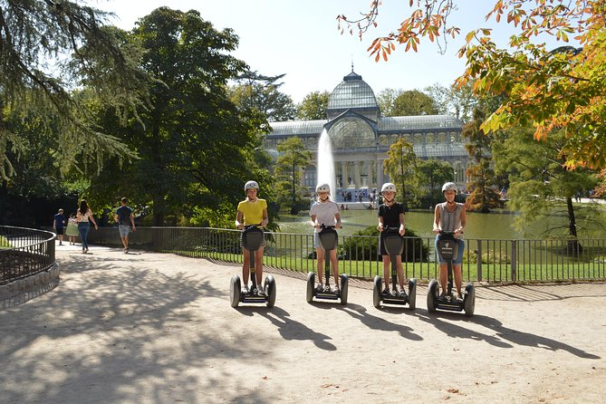 Emblematic Madrid Segway Tour: City Center and Retiro Park