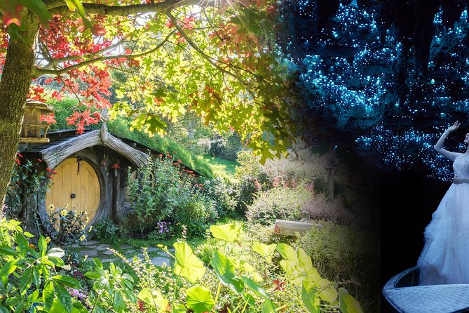 PRIVATE TOUR: From Tauranga: Waitomo Caves and Hobbiton Cruise Tour