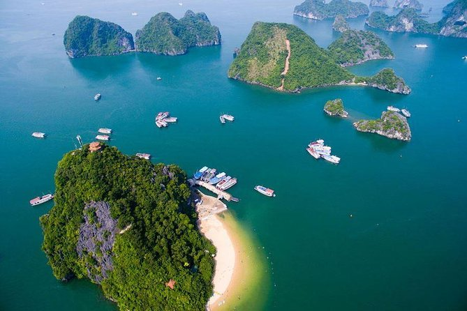 Full day Halong via HIGHWAY EXPRESS-Sung Sot cave, TiTop island, all inclusions