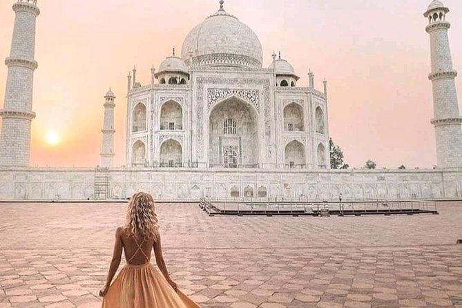Same day Taj Mahal and Agra fort from Agra