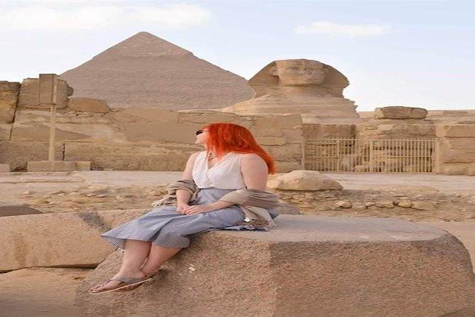 Tour Giza Pyramids Sphinx Memphis and Saqqara and Camel Ride