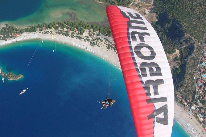 Paragliding at Fethiye Oludeniz