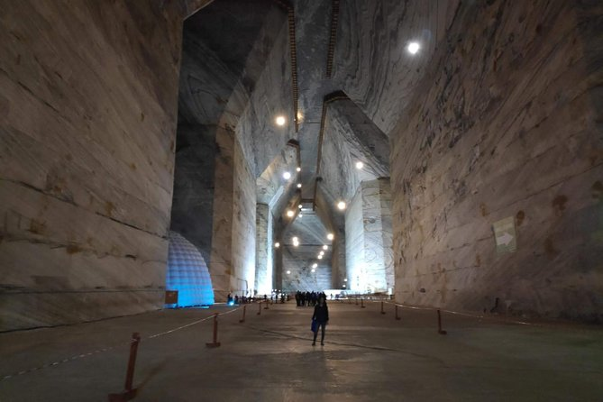 The biggest Salt Mine in Europe and Sinaia in one day