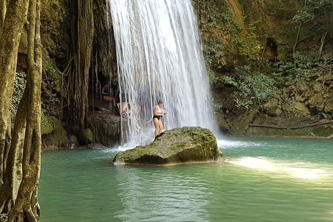 Kanchanaburi: Erawan Waterfall, Rafting, WWllMuseum, River Kwai, Death Railway