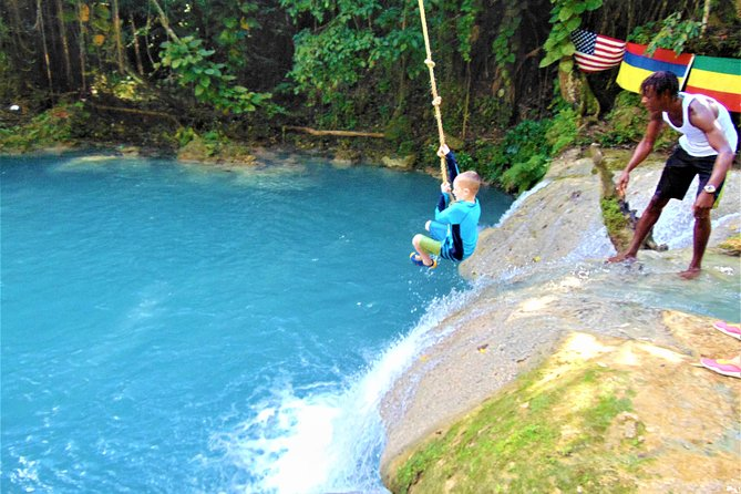 Blue Hole plus Secret Falls and Dunns River Falls Combo from Falmouth Hotels photo 21